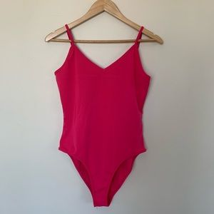 Fabulous Hot Pink Body Suit